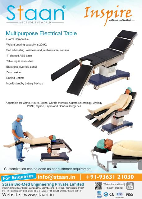 Inspire – Multipurpose Electrical Table