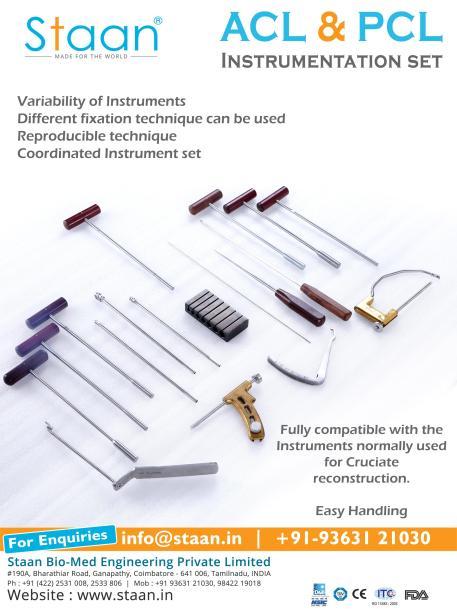 ACL & PCL Instrumentation Set