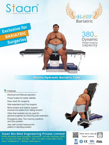 Staan – Glory Bariatric Table