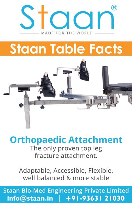 Staan Operating Table – Orthopaedic Attachment