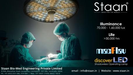 """Staan – """"MACFLAV"""" Discover LED Operating Light"""